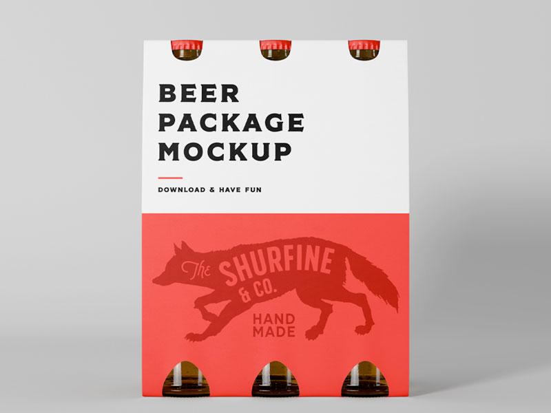 Beer Package Mockup