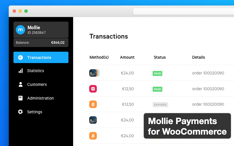 Mollie Payments Woocommerce