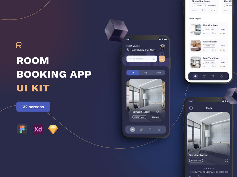 Room Booking App Ui Kit