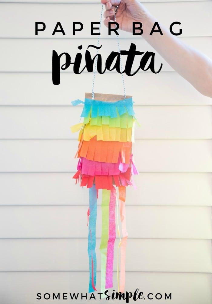 Paper Bag Pinatas A Simple Fun Tutorial Somewhat Simple