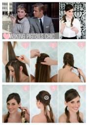 audrey hepburn hair tutorial