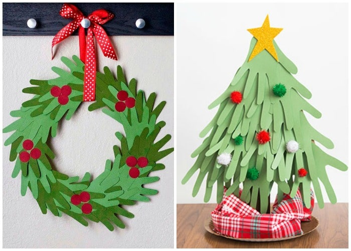 Simple Paper Christmas Crafts