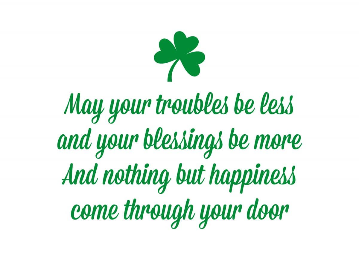 St Patrick S Day Quote Free Printable