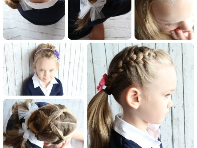 easy hairstyles for little girls - 10 ideas in 5 minutes or less!