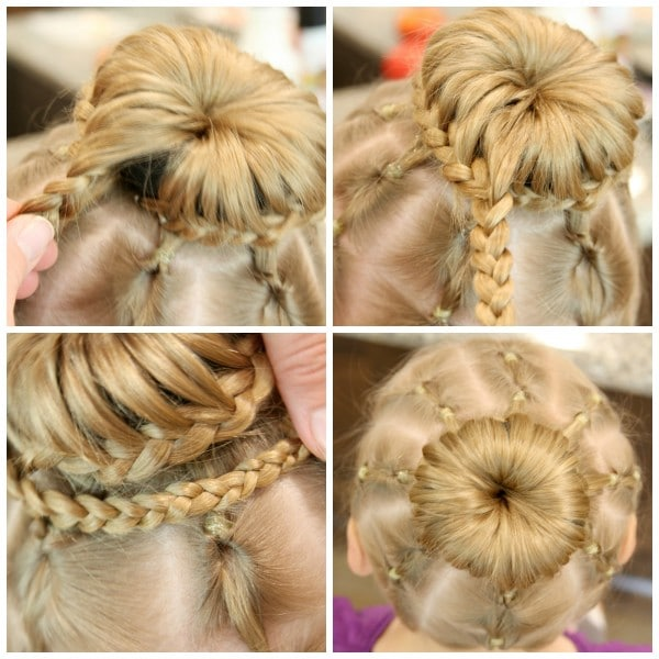 Spider Hair Collage 5