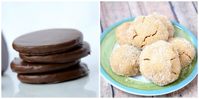 thin mint:pb cookie Collage