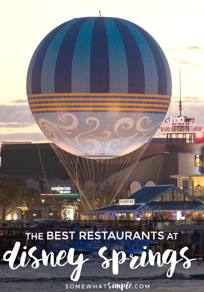 Disney Springs Dining Reservations
