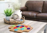 5 Styling Tips and Coffee Table Decor Ideas - Somewhat Simple