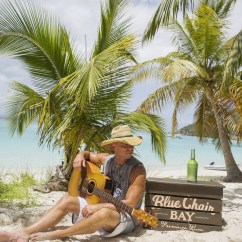 Kenny Chesney Blue Chair Bay Hats Bedroom Pod And Rum Invite Fans To Take A Year Off