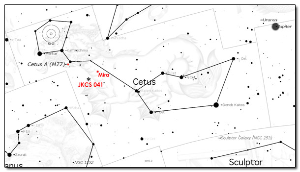 Some Light Science Reading. The Constellations: Cetus