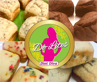 Diet Diva De-Lites Brownies Low Fat High Protein Snacks