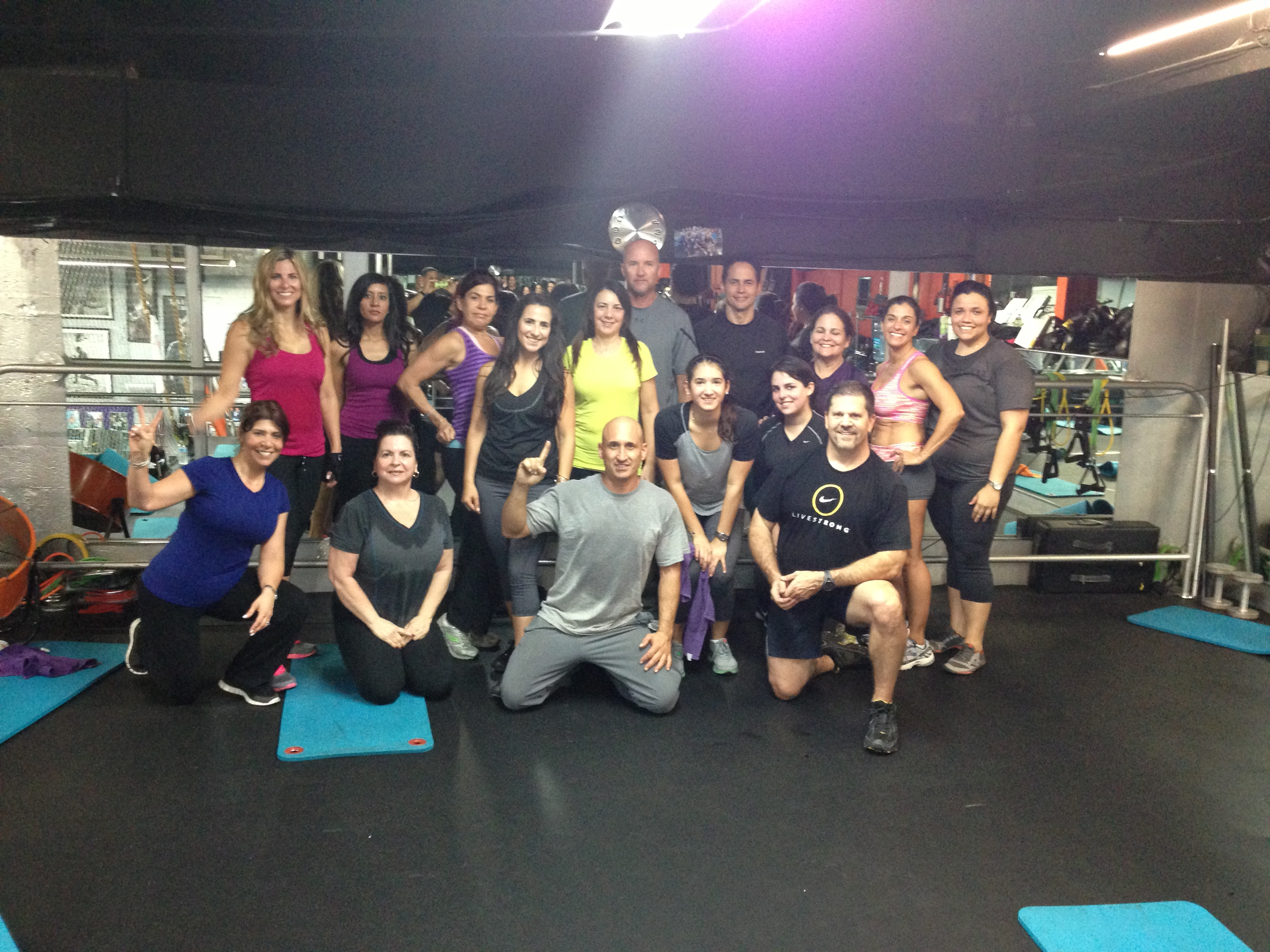 Get it in-Get it Done Fitness class at SoMi Fitness