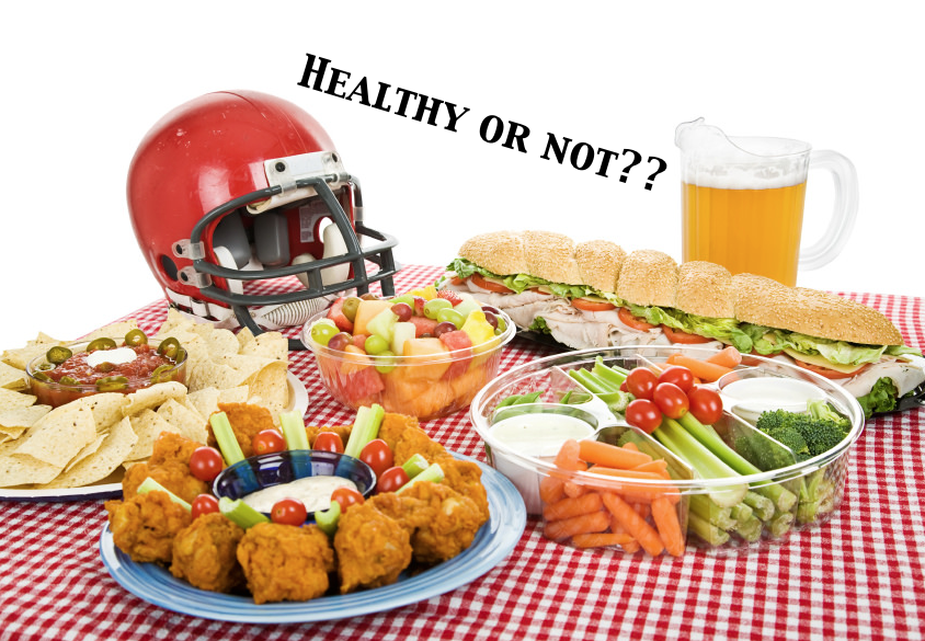 Eating healthier for the Super Bowl?