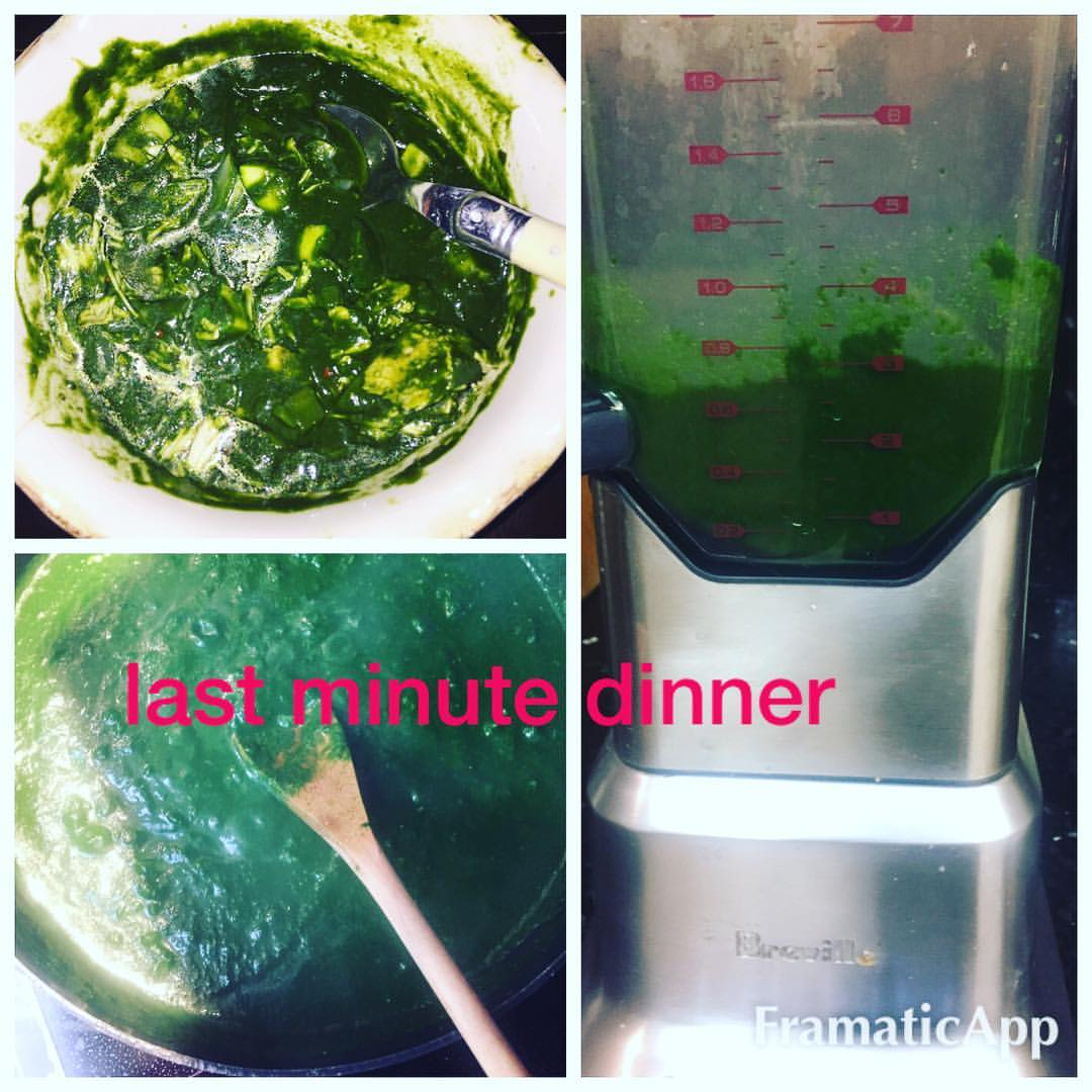 Spinach Soup – Healthy quick meals to prepare at home