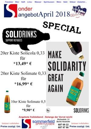 April special Solidrinks