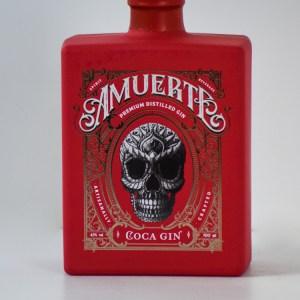 Amuerte Coca Leaf Gin Red Edition 43% 0,7l