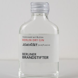 Berliner Brandstifter Dry Gin 0,1l