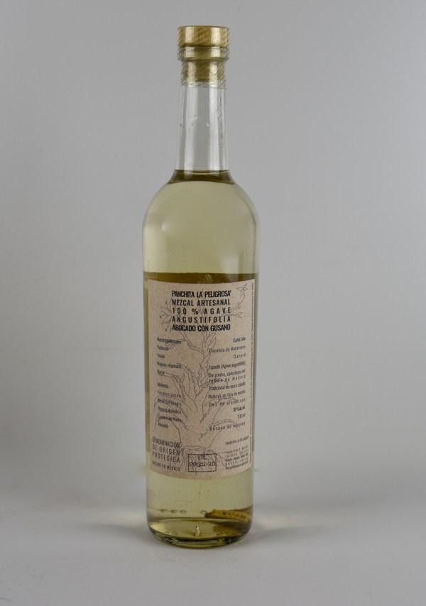 Mezcal Panchita La Peligrosa Gusano 48% 0,7l