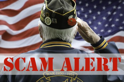 Image result for veterans scams