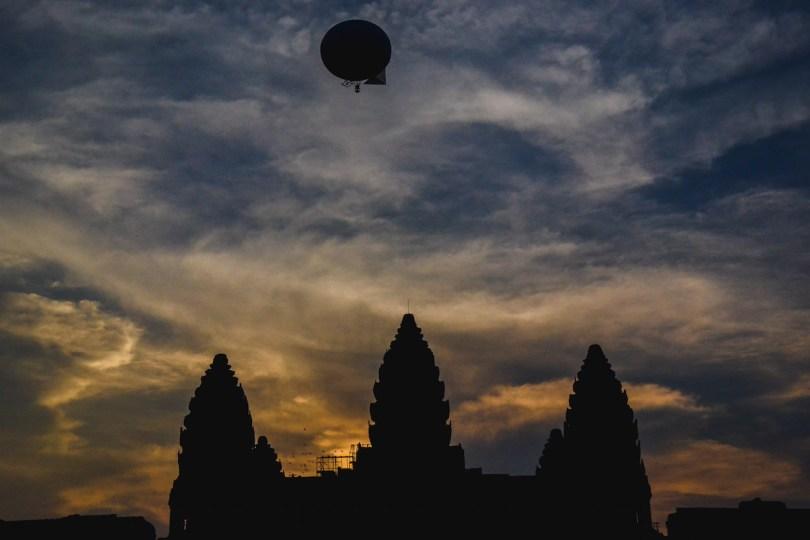 Sonnenuntergang-Angkor-Wat-Kambodscha