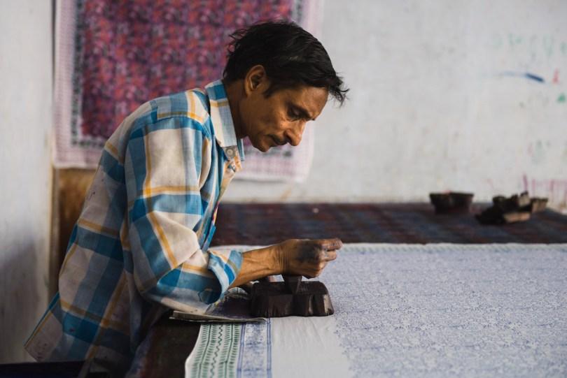 Drucker-Indien