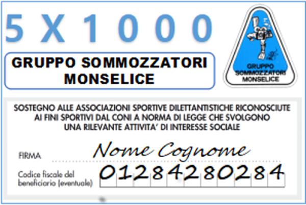 Contributo 5×1000 anno 2020