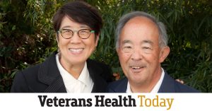 Melissa Lim and Patrick Yam for Veterans Health