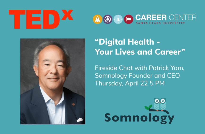 TEDx and Santa Clara University Host Fireside Chat with Patrick Yam