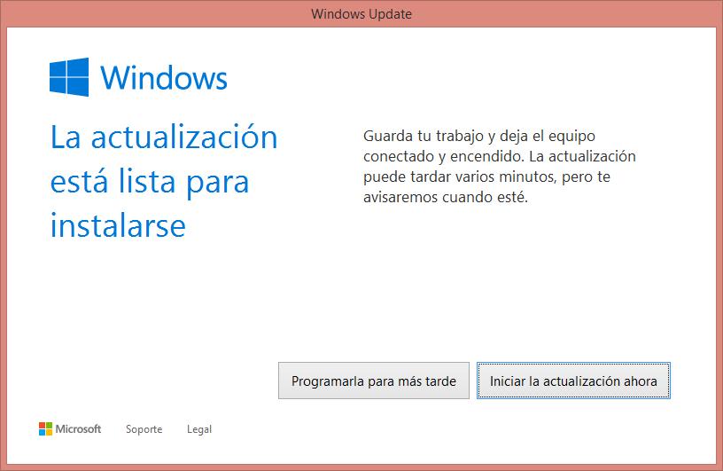 Actualizando a Windows 10