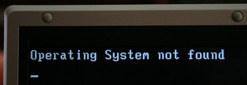 Sistema operativo no detectado