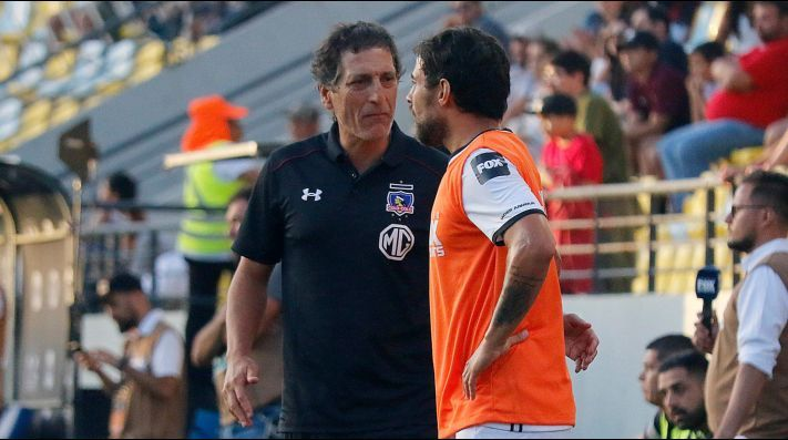 Mario Salas y Jorge Valdivia en Colo Colo - Agencia Uno