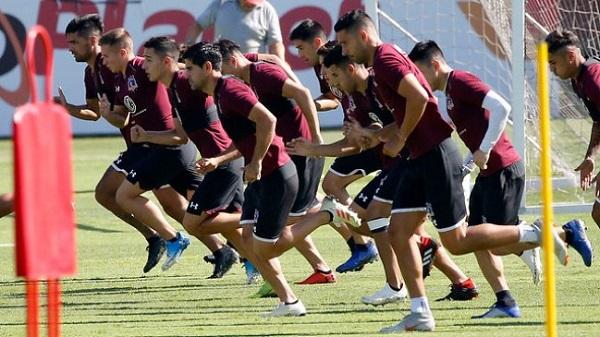 Colo Colo vuelve a los entrenamientos