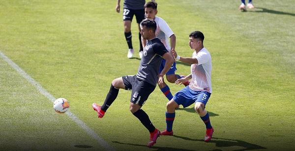 Colo Colo igualó contra Chile Sub 20. Créditos: Colo Colo