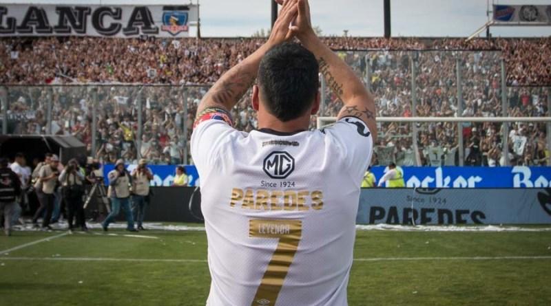 ¡Gracias Capitán! El adiós de Esteban Paredes a Colo Colo