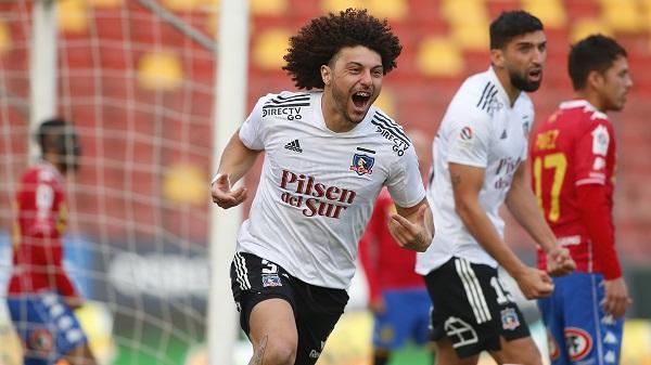 Maximiliano Falcón le entregó tres puntos de oro a Colo Colo. Créditos: Colo-Colo Oficial / Sebastián Órdenes