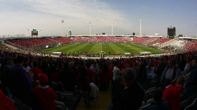 Selección Chilena Estadio Monumental