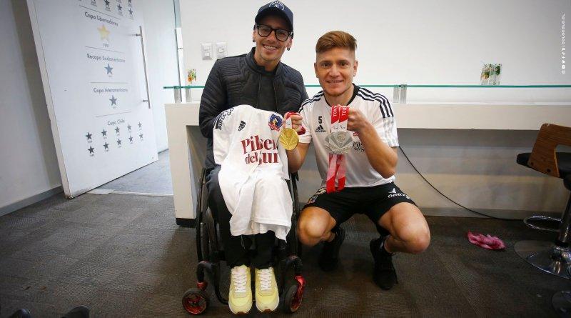 Alberto Abarza visitó el Estadio Monumental