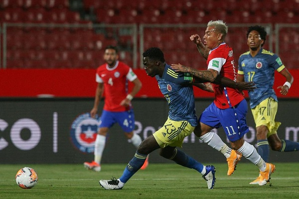 Chile volverá a medirse frente a Colombia