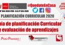 PLANIFICACIÓN CURRICULAR 2020: Guía para la Planificación Curricular y Evaluación de Aprendizajes – DRE Ancash [PDF]