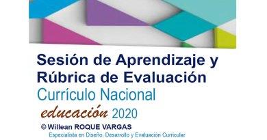 Taller de Sesión de Aprendizajes y Rúbrica de Evaluación 2020 [PPT]