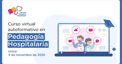Curso virtual autoformativo en Pedagogía Hospitalaria, Las preinscripciones se realizarán del 22 al 26 de octubre de 2020