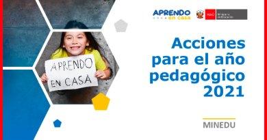 MINEDU: Acciones para el Año Pedagógico 2021 y Todo lo que Debe Conocer sobre el Servicio Educativo [Conócelo aquí]