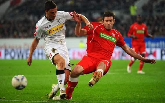 Juanan en un partido ante el Borussia Mönchengladbach. Foto: http://www.goal.com