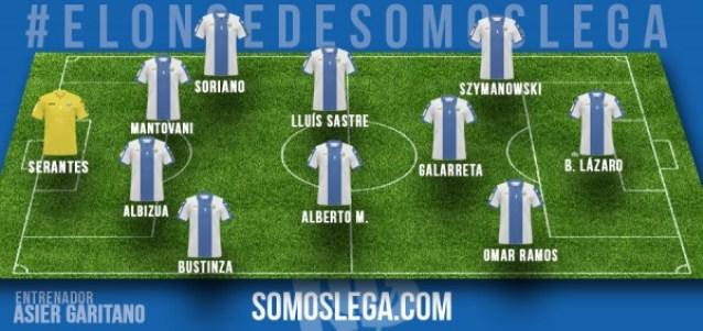 ONCE SOMOS LEGA_jornada1