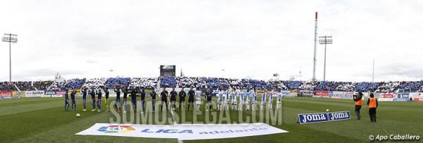 LEGANES 2-0 ALAVES. JORNADA VEINTISIETE DE LA LIGA ADELANTE. 28 DE FEBRERO DE 2016