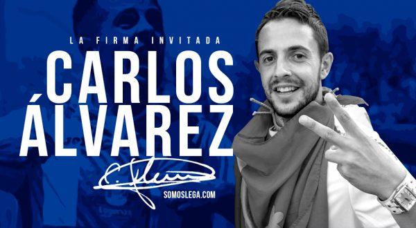 Firma Invitada Carlos Alvarez