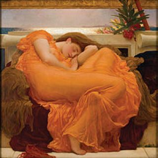 """Flaming June"", de Fredriock Lord Leighton"