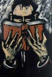 """""""Lector ávido"""", de Manuel Martín Morgado, un pintor obsesionado con el acto de leer."""