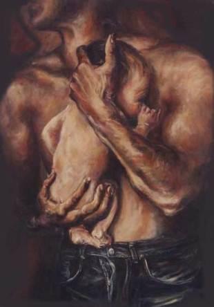 Imagen del pintor colombiano Dorián Florez