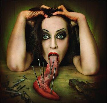 lengua dañina
